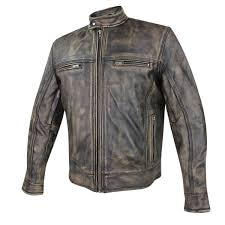 Кожаные байкерские куртки xelement men s venture armored leather motorcycle jacket with pocket