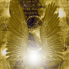 Holy Light Art Angel Wings And Shining Holy Light