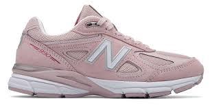 New Balance 990 Light Pink Womens 990v4 Made In Us Pink Ribbon