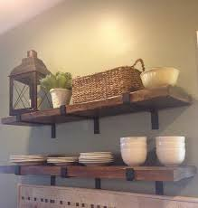 Salvaged Wood Floating Shelves Beauteous Reclaimed Wood Shelf Barn Wood Shelf Floating Shelvesstorage And