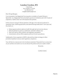 Sample Healthcare Cover Letter Best Operating Room Registered Nurse Cover Letter Examples Image