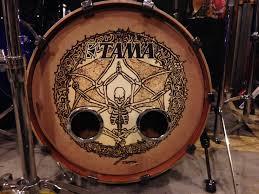 Bass Drum Skin Design Stafford Signs Custom Static Cling Drum Decals