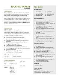 Resume Example Creative Free Resume Samples Templates 2 Resume