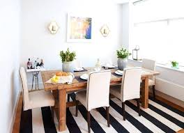 black and white striped rug area 8x10