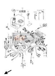 suzuki gsxr hayabusa spare parts msp wiring harness gsx1300r e2