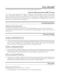 Nursing Resume Example Nurse Resumes Nursing School Resume Template ...