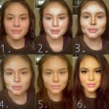 before and after make up 26