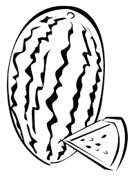 coloring watermelon coloring pages page fruits for teens pdf