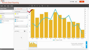 Bmc Remedy Smart Reporting Creating Combination And Bar Charts
