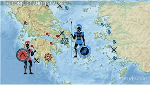 the peloponnesian war history cause result video lesson  the peloponnesian war history cause result video lesson transcript com