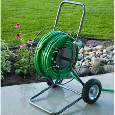 garden hose reel cart. Two Wheeled Hose Reel HT-2EZ Action 2 Garden Cart O