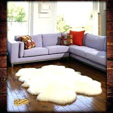 4x6 sheepskin rug faux sheepskin rug medium size of area sheepskin area rug faux animal skin
