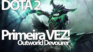 jogando dota 2 com outworld devourer youtube