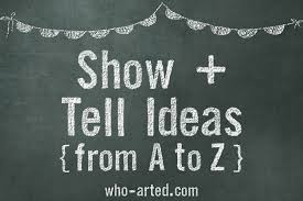 Show and Tell List from A to Z Who Arted 00 Feature Image Footer Image