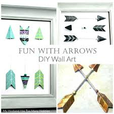 arrow home decor amazing best archery image on d i y your own to create fun wall art arrow home decor