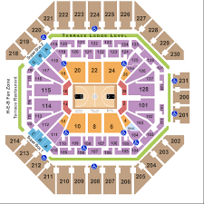 At T Center Seating Chart San Antonio