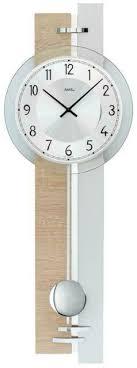 modern wall clock with quartz movement