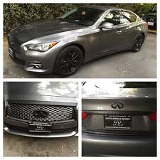 infiniti q50 blacked out. 2014 infiniti q50 black rims package girl emblems rear trim laplasticdip blacked out h