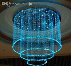 whole fiber optic lamp colorful curtain curtain cylindrical crystal chandelier fiber star ceiling lights fiber optic light engine dmx light gu10 engine