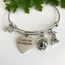 i love my firefighter fire wife jewelry gift for firefighter friend you choose