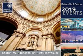 thank you for joining us at the 2019 oxford in north america events