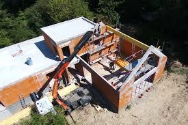 Maison En Cours De Construction Essonne 91 Construction Villa