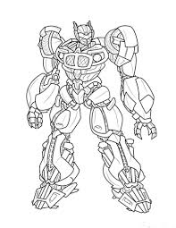 Small Picture Coloring Pages Boys Bumblebee Transformers Coloring Pages