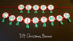<b>Merry Christmas</b> Banner | DIY Christmas <b>Decoration</b> Ideas - YouTube