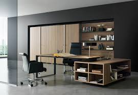 amazing home interior decorating office design ideas with cool black wall color theme and modern brown awesome color home office