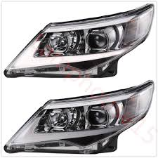 2014 Camry Led Lights Headlights For 2012 2013 2014 Toyota Camry Projector Drl New