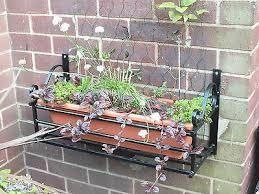 wall plant pot holder planter bracket