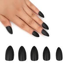 matte black sti nails coffin nails 56