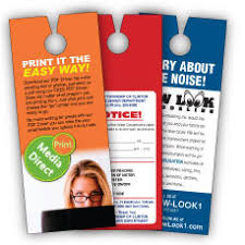 The Flyer Ads Advertise Locally With Flyers On Their Doors Door Hangers Delivery
