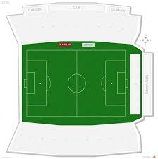 Fc Dallas Seating Chart Toyota Stadium Soccer Seating Guide Rateyourseats Com