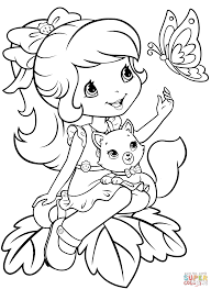 strawberry shortcake coloring pages strawberry shortcake 80 s
