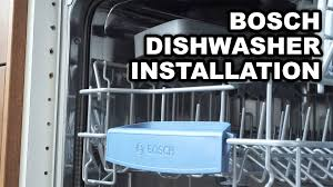 18 Inch Dishwasher Bosch Video Instructions For Installing Bosch Built In Dishwashers Youtube