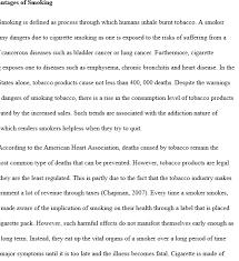 Persuasive Essay Smoking Elim Carpentersdaughter Co