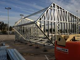 metal frame construction house - Google Search