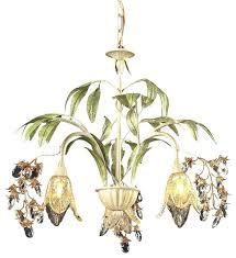 tropical chandelier