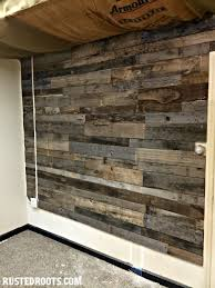 Pallet Wood Wall #RustedRoots