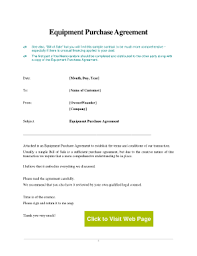Purchasing Contracts Templates 28 Printable Purchase And Sale Agreement For Equipment Forms And