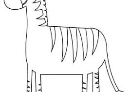 Small Picture Zebra Coloring Pages Coloring4Freecom