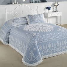 Spirit of America Candlewick Bedspread Bedding &  Adamdwight.com