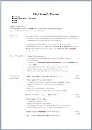 Chef Resume Example Sample Of Chef Resume Kitchen Chef Resume Chef ...