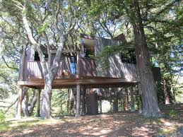 Timber Ridge Outpost Maple Oak Treehouse Cabin Camping Shawnee Treehouse Vacation California