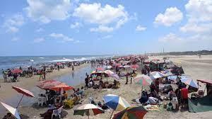 ازدياد الاقبال على مصيف بلطيم في ثالث أيام العيد وانقاذ 100 شخص - وحوش  الفوركس