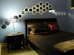 Man Bedroom Decorating Metal Ceiling Fan Masculine Bedroom Decorating Some Plants In The