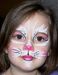 kitty kat makeup for kitty face cat face pink cat face face painting cat face painting