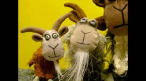 the three billy goats gruff song by frank luther