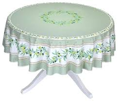 round green coated cotton tablecloth by linen paper for farmhouse tablecloths round cotton tablecloth